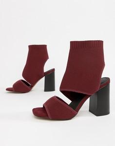 Босоножки на каблуке ASOS DESIGN - Красный