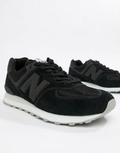 Черные кроссовки New Balance 574 ML574ETA - Черный