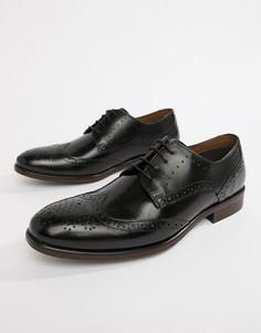 Черные туфли дерби Burton Menswear - Черный