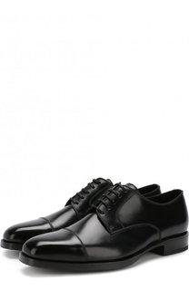 Кожаные дерби на шнуровке Tom Ford