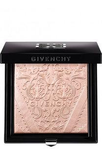 Пудра-хайлайтер Teint Couture Shimmer, оттенок 01 мерцающий розовый Givenchy