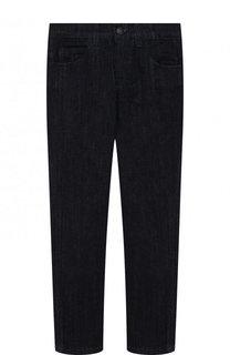 Однотонные джинсы прямого кроя Fendi