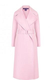Кашемировое пальто с поясом Ralph Lauren
