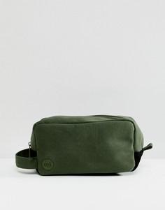 Несессер цвета хаки Mi-Pac - Зеленый