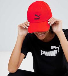 Красная кепка с логотипом Puma Exclusive - Красный