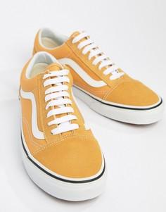 Желтые кроссовки Vans Old Skool VA38G1QA0 - Желтый