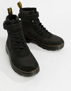 Черные ботинки в стиле милитари Dr.Martens Combs - Черный