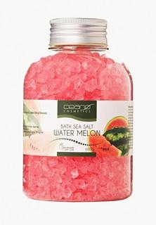 Соль для ванн Ceano Cosmetics Арбуз, 600 г