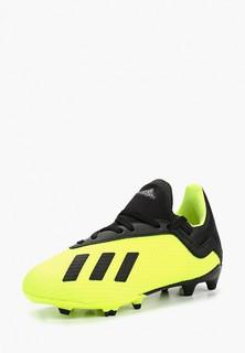 Бутсы adidas X 18.3 FG J