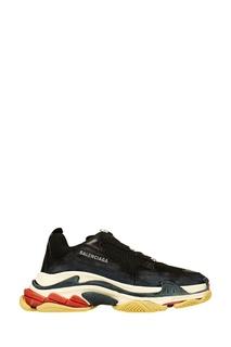 Черные кроссовки Triple S Balenciaga