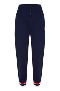 Синие брюки с цветной отделкой Reebok