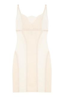Корректирующее белое платье Empress Fike Le Journal Intime