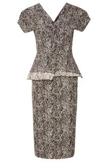 Серое платье Roland Mouret