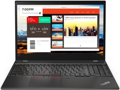 Ноутбук Lenovo ThinkPad T580 20L90026RT (черный)