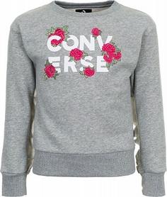 Джемпер для девочек Converse, размер 140