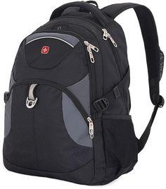 Рюкзак Wenger 3259204410 черный/серый 37x5x47см 32л. 0.9кг.