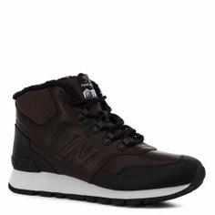 Кроссовки NEW BALANCE HL755 темно-коричневый