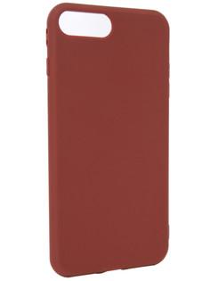 Аксессуар Чехол Neypo Silicone Soft Matte для APPLE iPhone 8+/7+ Brown NST4590