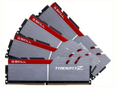 Модуль памяти G.Skill Trident Z DDR4 3600MHz PC4-28800 CL17 - 64Gb KIT (4x16Gb) F4-3600C17Q-64GTZ