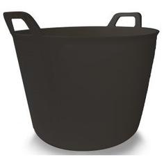 Корзина пластиковая черная №3 rubi 40л 88773
