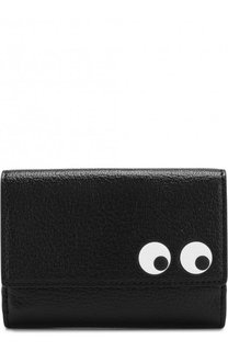 Кожаный кошелек Eyes Anya Hindmarch