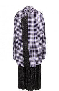 Платье-миди свободного кроя Balenciaga