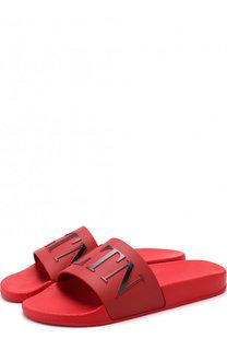 Резиновые шлепанцы Valentino Garavani VLTN Valentino