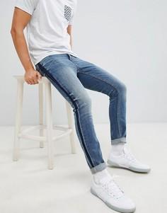 Синие джинсы скинни Burton Menswear - Синий