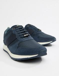 Темно-синие кроссовки Ted Baker Heby - Синий