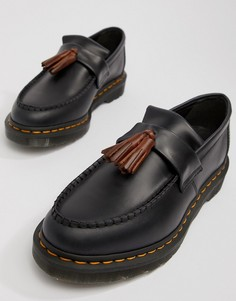 Dr Martens Adrian tassel loafers in navy - Темно-синий