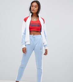 Спортивные брюки в стиле ретро Puma - Синий