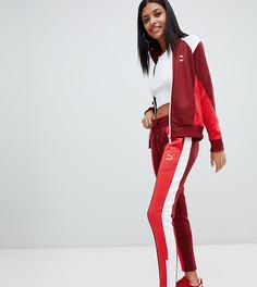 Красные спортивные брюки в стиле ретро Puma - Красный
