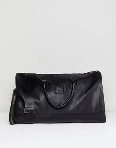 Черная сумка из искусственной кожи Good For Nothing - Черный
