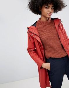 Куртка-дождевик с покрытием Vero Moda - Красный