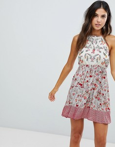 Raga Primrose Floral Print Dress - Розовый