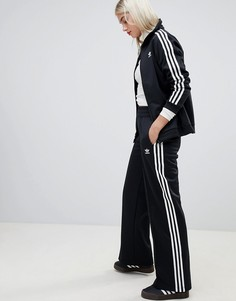 Черные спортивные брюки с тремя полосками Adidas Originals - Черный