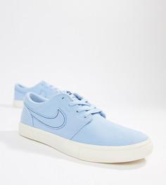 Голубые кроссовки Nike SB Portmore Ii - Бежевый