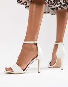 Босоножки в минималистском стиле на каблуке Aldo - Белый