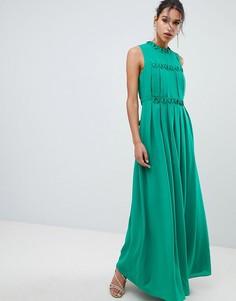 Платье макси Ted Baker Saffrom - Зеленый