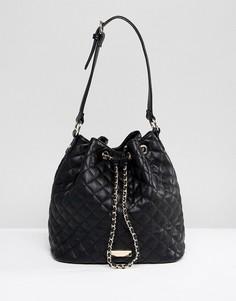 Стеганая сумка через плечо Carvela - Черный