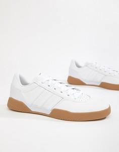 Белые кроссовки adidas Originals City Cup B22729 - Белый