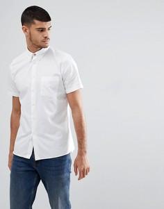 Белая рубашка с коротким рукавом и карманом PS Paul Smith - Белый