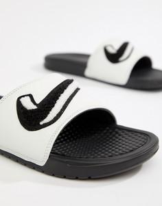Белые шлепанцы Nike Benassi JDI AO2805-001 - Белый