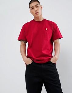 Красная футболка Carhartt WIP - Красный