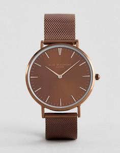 Часы с коричневым циферблатом Elie Beaumont - Коричневый