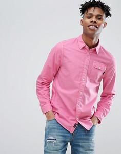 Ярко-розовая оксфордская рубашка Jack Wills Atley - Розовый