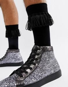 Черные носки ASOS DESIGN - Черный