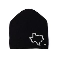 Шерстяная шапка с контрастным принтом Lost&;Found