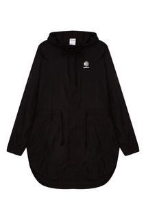 Черная куртка с логотипом Reebok