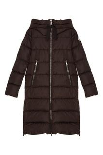 Черная стеганая куртка Moncler